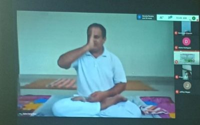 WEBINAR AT CARMEL COLLEGE TO COMMEMORATE INTERNATIONAL DAY OF YOGA, 2020