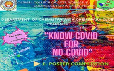 """KNOW COVID FOR NO COVID"" E- POSTER COMPETITION"