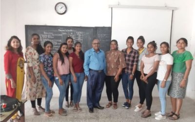 GUEST LECTURE BY KONKANI SHORT STORY WRITER VASANT BHAGWANT SAWANT