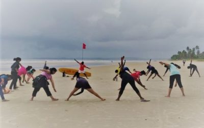 BEACH WORKOUT ORGANIZED BY THE DEPARTMENT OF ECONOMICS